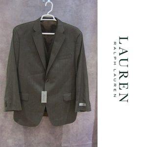 NEW Lauren Ralph Lauren Wool Suit Coat & Vest 46 R